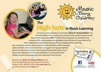 Music for Young Children Fairview January start classes!