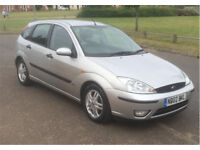 GREAT CONDITION 2002 FORD FOCUS TDCI ZETEC 5DR FOR SALE, ONLY £725