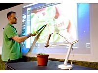 IPEVO IW2 Wireless Interactive Whiteboard System
