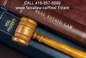 Mississauga Real Estate Lawyers( Affordable) 416-857-6099