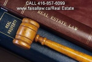 Mississauga Real Estate Lawyers ( 416-857-6099) Affordable