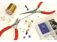 Lunchtime Jewellery making club tutor Fridays