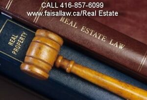 Scarborough Real Estate Lawyer ( 416-857-6099)