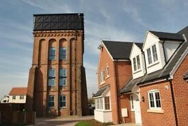 Penthouse room for rent in converted water tower. Central to Diss.