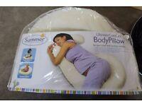 Maternity & Nursing - Summer Ultimate Comfort Body Pillow - Smoke & Pet FREE Home