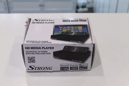 Strong SRT-MPT DUAL CORE HD Media Player w Digital TV Tuner