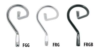 FRGB - AMERICAN TACKLE SNAKE STYLE FLY GUIDES IN BLACK COLOR 1 PER -