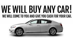 WANTED CASH FOR CARS DEAD OR ALIVE!!!! 204-782-4141
