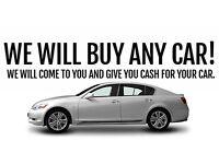 WANT TO SELL YOUR CAR? WE BUY CARS VANS CARAVANS MOTORHOMES ETC