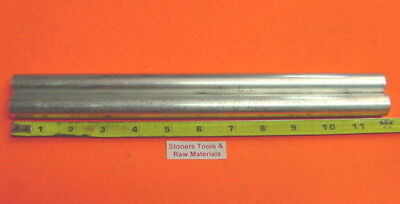 2 Pieces 34 Aluminum Round 6061 Rod 12 Long Solid T6511 .75 New Lathe Stock