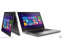"""Dell Inspiron 13 -7347,13.3"""" 2-in-1 Convertible Laptop, 500GB SSD,Win10,FREE Bag"""