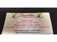 Sparkles Cleaning,Fully Insured/Great References/Great rates(Cleaner)