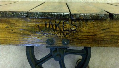 Railroad Cart Antiques Ebay
