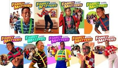FAMILY MATTERS THE COMPLETE TV SERIES New Sealed DVD Seasons 1 2 3 4 5 6 7 8 9