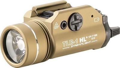 (STREAMLIGHT Tlr-1 Hl With Lithium Batteries, Flat Dark Earth)