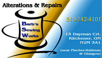 Excellent, Fast and Affordable Alterations & Repairs