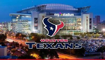 2 Houston Texans Lowe Level PSL'S Sec 137