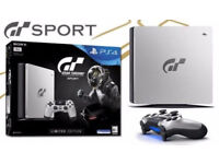 *Limited Edition Sony Gran Turismo Sport PS4 Console Bundle ~ DualShock v2a ~ Includes GT Sport Game