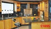 Used Oak Kitchen Units