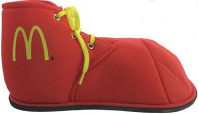 McDonald's Costume Clown Red M Logo Ronald Mcdonald Fabric Child Shoes - Girl Clown Shoes