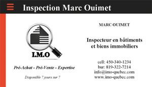IMO-QUEBEC.COM – INSPECTEUR EN BÂTIMENT