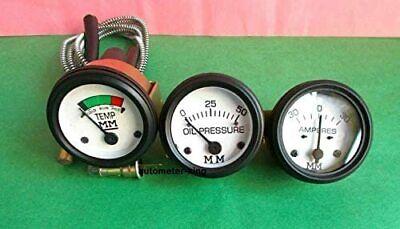 Minneapolis Moline Tractor Tempoil Pressureammeter Gauges Set For Gruz335