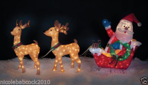Outdoor Christmas Decorations Deer