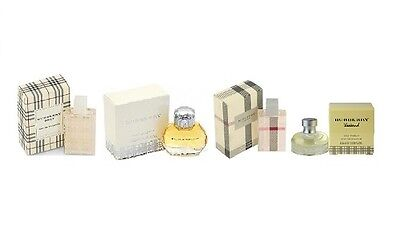 $7.99 - Selection of Mini Burberry Women Fragances Perfume New In Box