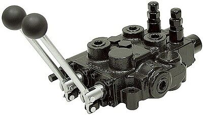 Prince Hydraulic Two 2 Spool Valve Auto Cycle Rd523mmee5a4c1 25gpm Power Beyond