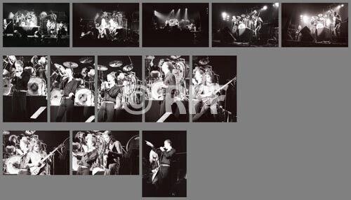 Judas Priest 1977 photo SET, 13 photos 4x6 - NYC