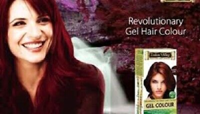 Indus Valley 100 % Organically Natural Gel Hair Colour 35 gm (Choose -