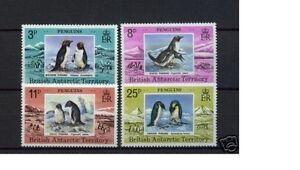 bat 1979 antarctic antactica antarctique penguins pinguine fauna marine 4v mnh - France - Thme: Faune - France