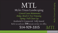 MTL LANDSCAPING- LAWN care Grass cutting Lawn maintenance mowing