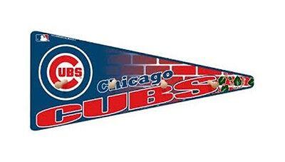 Chicago Cubs Hat Coat Rack Baseball Pennant Wood Man Cave (Pennant Coat Rack)