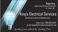 Electrician... Available at very Reasonable Rates.