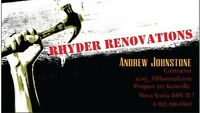 Rhyder Renovations