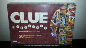 Clue Mysteries Decoding Detective Game Parker Brothers 2005