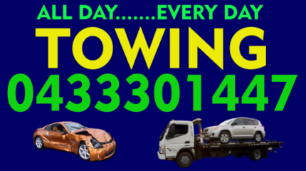 TOWING SERVICE , NEED IT TOWED? TOW TRUCK