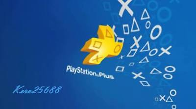 PSN PLUS 1 Month( 2x14) DAY TRIAL - PS4 - PS3 - PS Vita - PLAYSTATION NO.CODE
