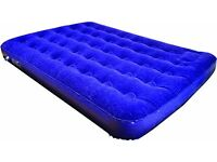 Inflatable Airbed Mattresses (ideal for camping etc) (2 available will sell singly for £10 each)