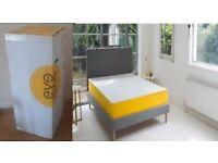 "EVE Memory Foam Double Mattress UK W 135cm x L 190cm (4'6"" x 6'4"") *RRP £599*"