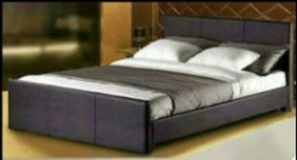 Brand New Leather/Wooden/Timber Bed From $175