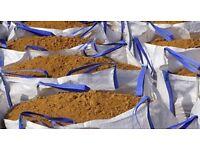 Building sand 1 ton bulk bag delivery