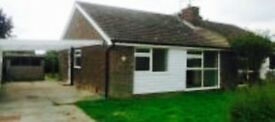 2 bedroom bungalow for rent from April in Fordham village co6