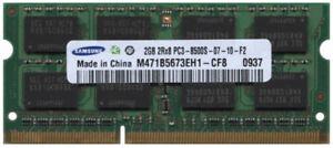 2GB PC3-8500 DDR3 Laptop Memory