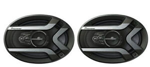 "PIONEER TS-975M 6X9"" 4-WAY CAR STEREO SPEAKERS PAIR 400W MAX"