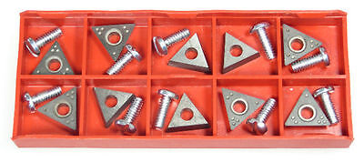 10 AccuTurn 433796 Positive Rake Carbide Brake Lathe Bits Cutters Accu Turn Brake Lathe