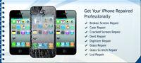 Reparation Ecran/Screen iPhone 4/4S(39.9$),5(59.9$),5C/5S(64.9$)