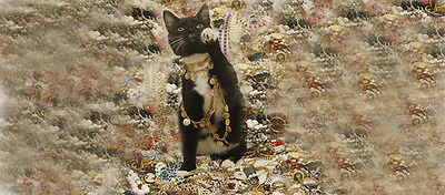 THE PAWNBROKERS CAT VINTAGE JEWELRY
