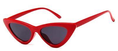 Womens Cat Eye Sunglasses UV400 Shades Fashion Vintage Retro Trendy Blogger Fav (Retro Cat Eye)